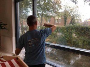 UV-werende folie op raam
