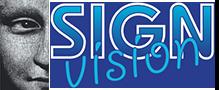 Logo Sign Vision Reclame Zaanstreek